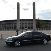Limousine Berlin in front of Olympic stadium :: Premium-Drive