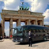 VIP Bus Berlin in front of Brandenburg Gate :: Premium-Drive GmbH