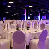 Meeting Guide Berlin Mercure Hotel MOA Berlin Gala Bestuhlung in der Convention Hall
