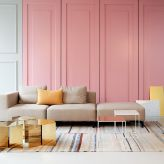 Meeting Guide Berlin, service provider Berlin, Kaluza + Schmid, contemporary furniture rosa, beige