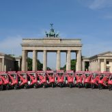 BikeTaxi Flotte am Brandenburger Tor