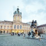 Berlin Convention Office, event location and architectural highlight Charlottenburg Palace Inner courtyard
