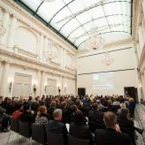 Berlin Convention Office, event location and architectural highlight Hotel de Rome, event hall interior view