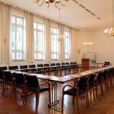 Kirchensaal of the conference hotel Dietrich-Bonhoeffer-Haus