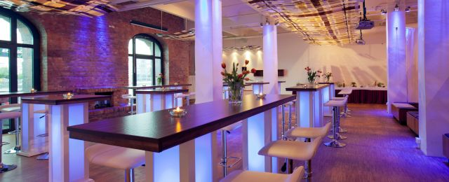 Meeting Guide Berlin, Eventlocation Berlin, Capitol Yard Golf Lounge, Innenansicht