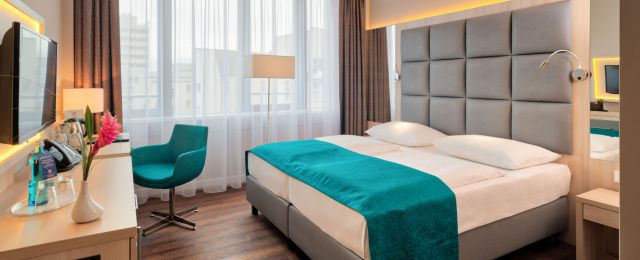 Meeting Guide Berlin, conference Hotel Hollywood Media Hotel, Double room