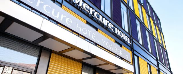 Meeting Guide Berlin Mercure Hotel MOA Berlin Außenansicht