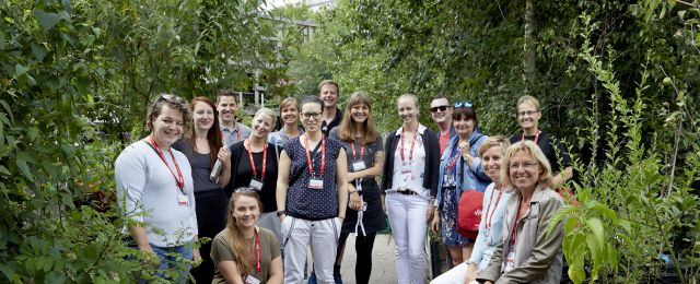 Berlin Convention Office, con|temporary weekend Juni 2018, Gruppenfoto bei der Green Tour