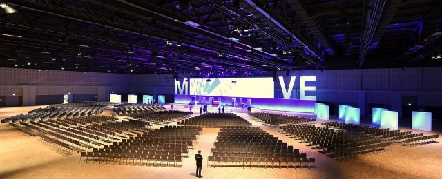 Convention Halle im Estrel Congress & Messe Center in Berlin