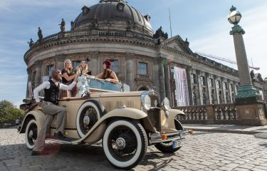 Time travel to the twenties as a team event with Zeitreisen