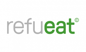 Logo des Servicepartners Refueat Catering