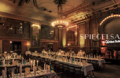 Meeting Guide Berlin, historical event location Clärchens Ballhaus, event in the Hall of Mirrors