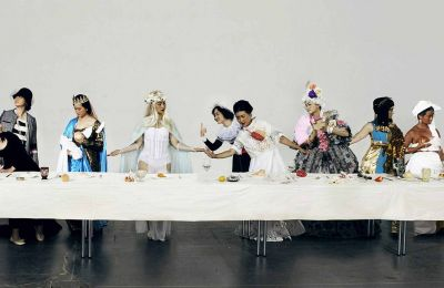 Ye Funa, The Supper of Goddess, 2015, 51,7x150cm, Fotografie