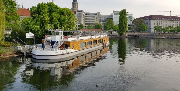Meeting Guide Berlin, Eventlocation CO2 neutrales Seminarschiff
