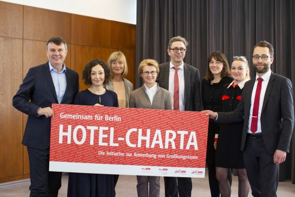 Blog Berlin Meetings, Hotel Charter for the recruitment of major congresses in Berlin, Supporter of the Hotel Charter Group Photo