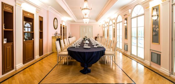 Meeting Guide Berlin, KPM Berlin, Boccherini hall with banquet seating